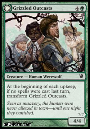 Grizzled Outcasts (Krallenhorde Wantons), Innistrad, Magic the Gathering