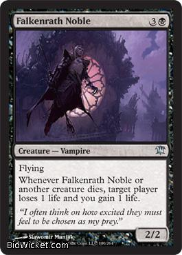 Falkenrath Noble, Innistrad, Magic the Gathering