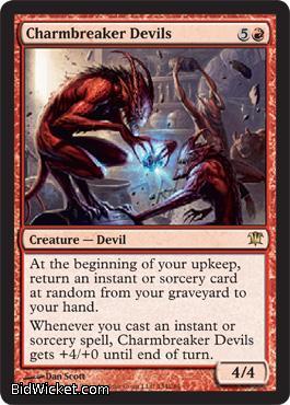 Charmbreaker Devils, Innistrad, Magic the Gathering