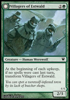 Villagers of Estwald (Howlpack of Estwald), Innistrad, Magic the Gathering