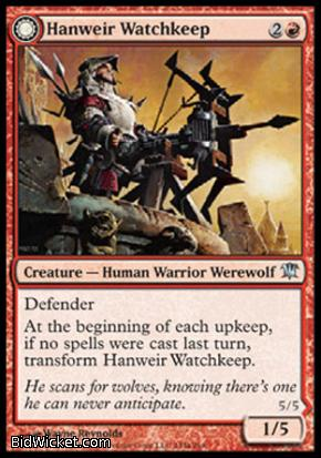 Hanweir Watchkeep (Bane of Hanweir), Innistrad, Magic the Gathering