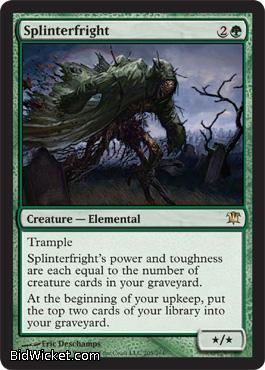 Splinterfright, Innistrad, Magic the Gathering