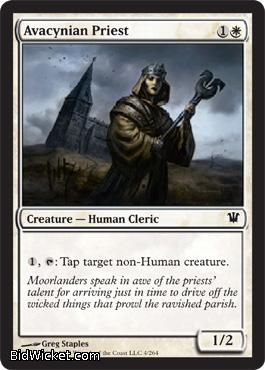 Avacynian Priest, Innistrad, Magic the Gathering