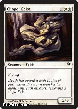 Chapel Geist, Innistrad, Magic the Gathering