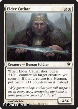 Elder Cathar, Innistrad, Magic the Gathering