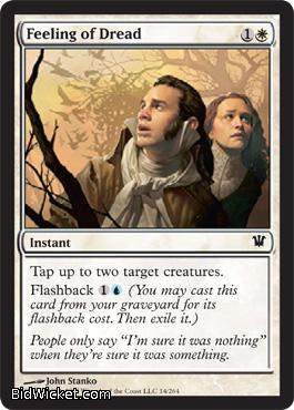Feeling of Dread, Innistrad, Magic the Gathering
