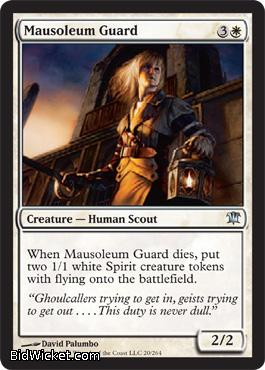 Mausoleum Guard, Innistrad, Magic the Gathering