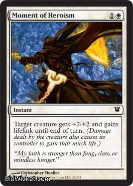Moment of Heroism, Innistrad, Magic the Gathering