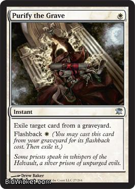 Purify the Grave, Innistrad, Magic the Gathering