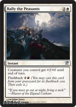 Rally the Peasants, Innistrad, Magic the Gathering