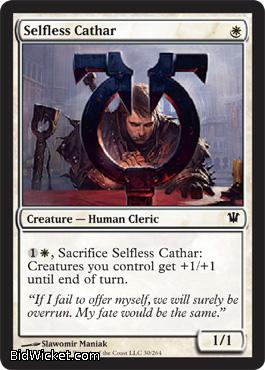 Selfless Cathar, Innistrad, Magic the Gathering