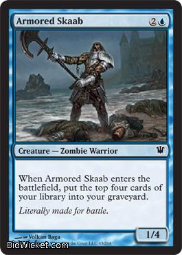 Armored Skaab, Innistrad, Magic the Gathering