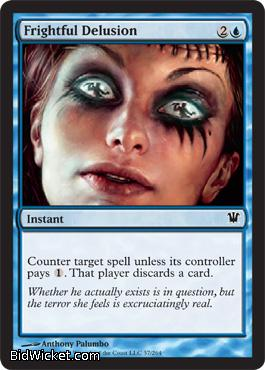 Frightful Delusion, Innistrad, Magic the Gathering