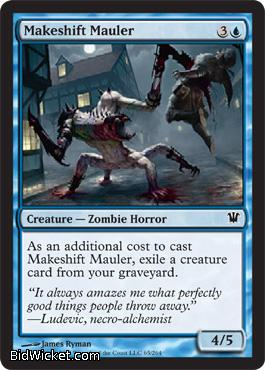 Makeshift Mauler, Innistrad, Magic the Gathering
