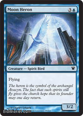 Moon Heron, Innistrad, Magic the Gathering