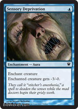 Sensory Deprivation, Innistrad, Magic the Gathering