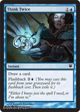 Think Twice, Innistrad, Magic the Gathering