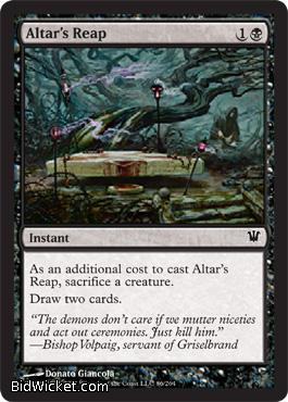 Altar's Reap, Innistrad, Magic the Gathering