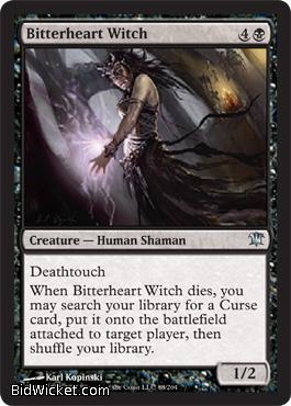 Bitterheart Witch, Innistrad, Magic the Gathering