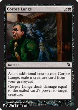 Corpse Lunge, Innistrad, Magic the Gathering