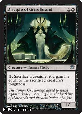 Disciple of Griselbrand, Innistrad, Magic the Gathering