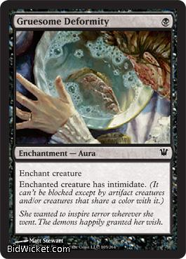 Gruesome Deformity, Innistrad, Magic the Gathering
