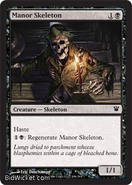 Manor Skeleton, Innistrad, Magic the Gathering