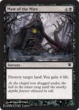 Maw of the Mire, Innistrad, Magic the Gathering