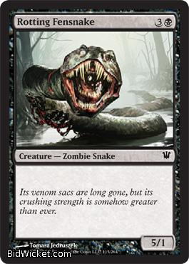 Rotting Fensnake, Innistrad, Magic the Gathering