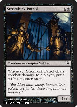 Stromkirk Patrol, Innistrad, Magic the Gathering