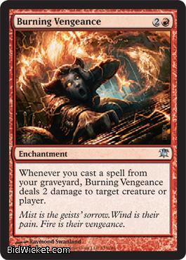 Burning Vengeance, Innistrad, Magic the Gathering