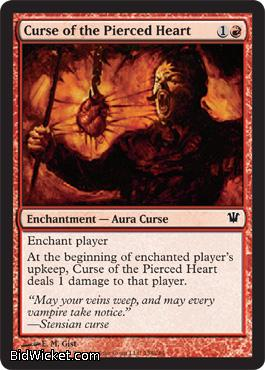 Curse of the Pierced Heart, Innistrad, Magic the Gathering