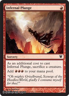 Infernal Plunge, Innistrad, Magic the Gathering