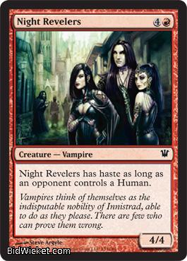 Night Revelers, Innistrad, Magic the Gathering