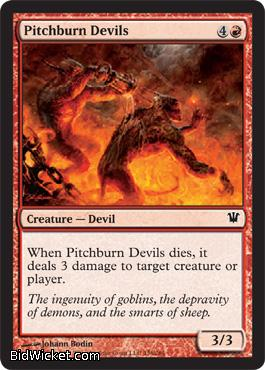 Pitchburn Devils, Innistrad, Magic the Gathering