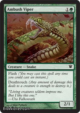 Ambush Viper, Innistrad, Magic the Gathering