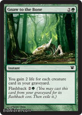 Gnaw to the Bone, Innistrad, Magic the Gathering