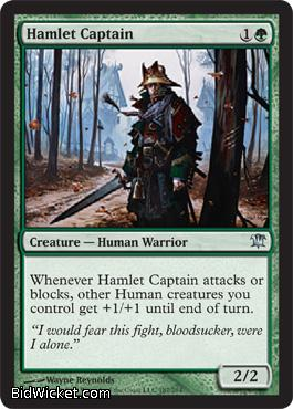 Hamlet Captain, Innistrad, Magic the Gathering