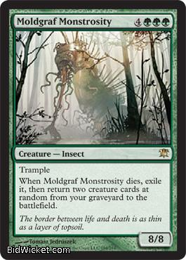 Moldgraf Monstrosity, Innistrad, Magic the Gathering