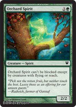 Orchard Spirit, Innistrad, Magic the Gathering