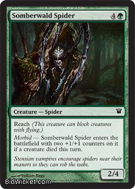 Somberwald Spider, Innistrad, Magic the Gathering