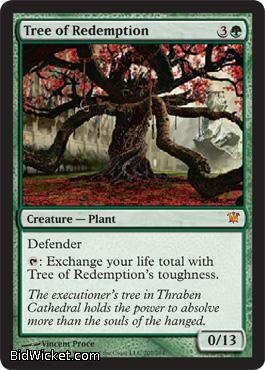 Tree of Redemption, Innistrad, Magic the Gathering