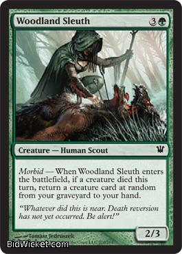Woodland Sleuth, Innistrad, Magic the Gathering