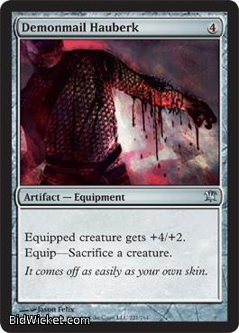 Demonmail Hauberk, Innistrad, Magic the Gathering