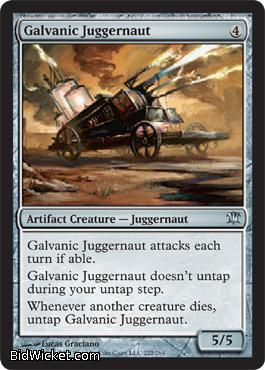 Galvanic Juggernaut, Innistrad, Magic the Gathering