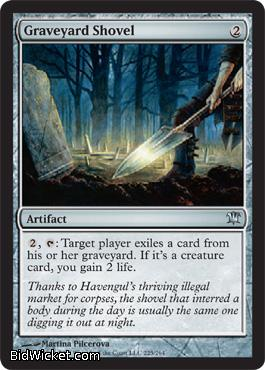 Graveyard Shovel, Innistrad, Magic the Gathering