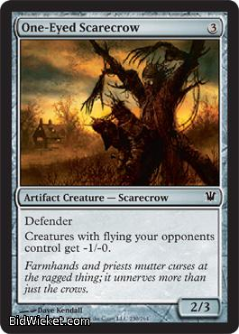 One-Eyed Scarecrow, Innistrad, Magic the Gathering