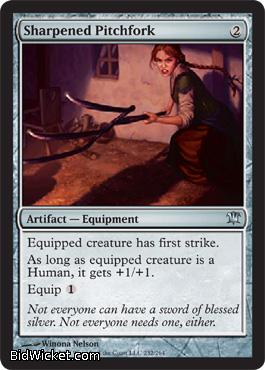 Sharpened Pitchfork, Innistrad, Magic the Gathering