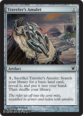 Traveler's Amulet, Innistrad, Magic the Gathering