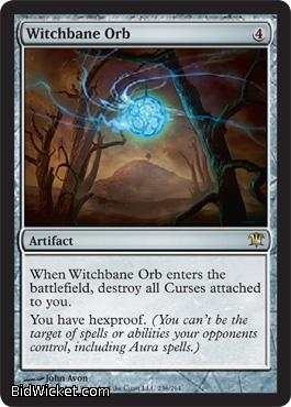 Witchbane Orb, Innistrad, Magic the Gathering